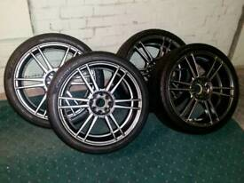 4xKosei Wheels +tyres