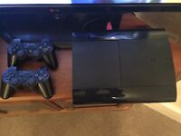 Sony PS3 Super Slim 12 GB with added 250GB Hard Drive