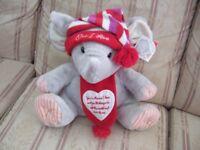 Stuffed Elephant - 'One I Love'