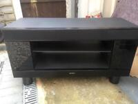 Sony surround system and TV cabinet