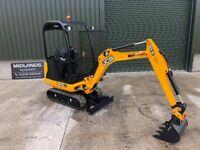 JCB, 8018 CTS 1.8 Ton, Unused Excavator/Digger Finance from £ 78 pw * Plus VAT