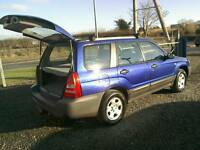 03 Subaru Forester 2.0 awd Estate Moted Sept 17 only 78000 mls( can be viewed inside anytime)