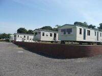STATIC CARAVANS AT TEWKSBURY 2 AND 3 BEDROOMS. PUB ON SITE OPEN DAY 25TH OF AUGUST