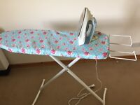 Iron and ironing board MAY SPLIT