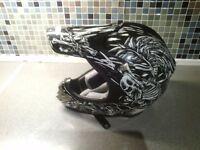 Duchinni d200 bonez motocross helmet £30 cash