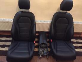 Mercedes c class w205 leather interior