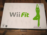 Wii Fit Board plus fitness software for Nintendo Wii