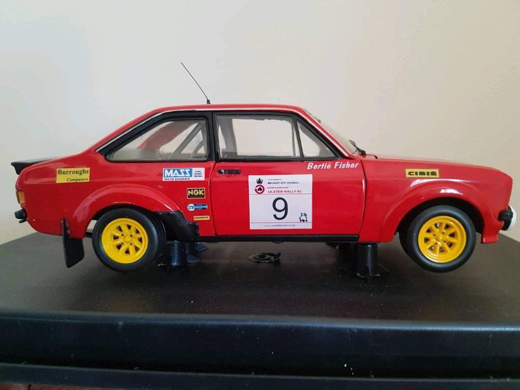 1:18 Bertie Fisher Mk2 Escort. Ulster Rally. Limavady. Irish rally ...