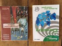 Standard Grade Chemistry books.