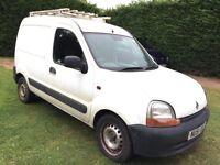 Renault Kangoo 1.9 D 865D Panel Van 3dr £199 no MOT! starts and drives 2002 (51 reg), Panel Van
