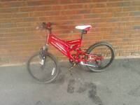 Kids muddy fox mountain bike in great condition