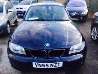BMW 116 I PETROL MANUAL SE 5 DOORS 2005
