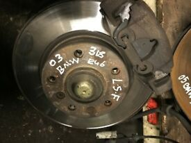 03 BMW E46 FRONT AND BACK HUB AVALIABLE EACH £30