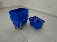Shopping Baskets and Basket Stacker