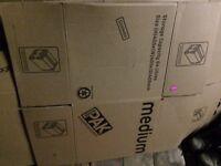 9+ Pak Cardboard removal/ storage boxes