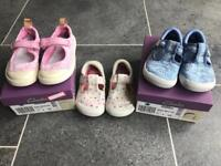 Clarks girls shoes 5-1/2 F