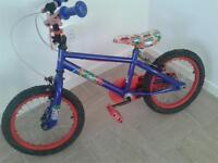 avengers childrens bike