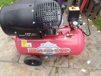 Raider 15/500 3hp 50 Litre Air Compressor