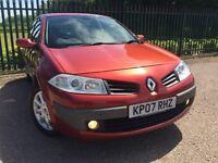 Renault Megane 1.6 VVT Dynamique Proactive 5dr 2007 (07 reg), Hatchback Automatic with Brand New MOT