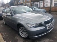 BMW 320D SE DIESEL TOURING 2006 AUTOMATIC MINT FULL BMW HISTORY NEW MOT 10 STAMPS IMMACULATE