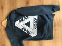 OG Palace 3M Tri Ferg crew neck sweater Navy Medium FLACKA SS16 EDITION VERY VERY RARE
