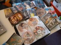 120 dvd films of famous bollywood films,all famous film stars,cost me over £700,i will accept £75