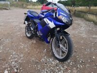 Yamaha tzr 50 2003 50cc moped 1 years MOT private sale