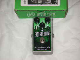 EHX East River Drive (Overdrive / Distortion pedal)