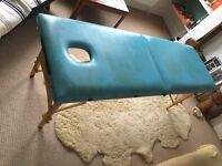 Massage Table, Padded Top, Comfortable and Safe