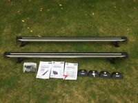 Thule roof bars - slide bar with 4023 kit (BMW X5, X3 and 3 series touring)