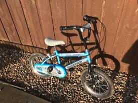 "Boys 12"" bike With stabilisers"