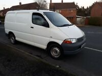 2004 Toyota Hiace 280 GS swb 1 Owner from new NO VAT