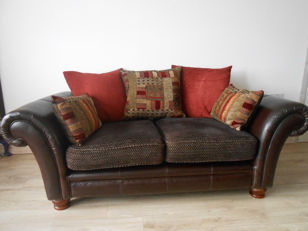 Dfs Perez 2 Seater Pillow Back Sofa In Dundee Gumtree