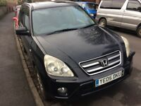 Sold subject to collection tomorrow - Honda CR-V for spares or repair