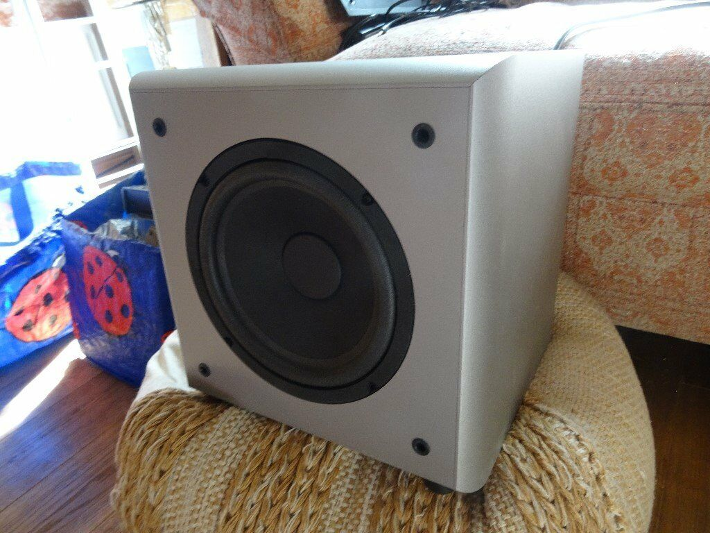 Eltax EA SW20 Active Subwoofer. Boxed and in good condition.