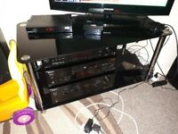 glass TV STAND for free!!