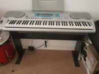 Casio keyboard wk3000 with stand