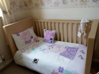 Once upon a time nursery bundle & Cot bed