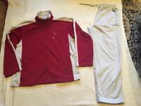 Cross men's full tracksuit set zipper jacket and bottoms size M good condition £10