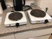 Mini Oven & Two Portable Cooking Stoves