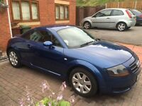 Audi TT 1.8 automatic, lovely car well looked after comes with all paper work showing cars history