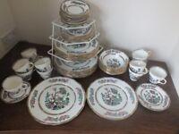 """""""Duchess"""" bone china dinner service"""