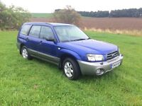 SUBARU FORESTER 2.0 X ALL WEATHER PACK 5 DOOR ESTATE