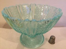 Art Nouveau vaseline bowl