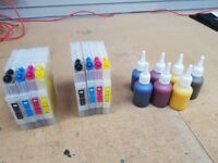 Sublimation ink and refillable cartridges for Ricoh SG2100N SG3110DN SG7100DN printers