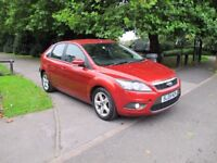 2009 (09) Ford Focus 1.6 Zetec 5dr **LOW INSURANCE** 6-MONTH WARRANTY**