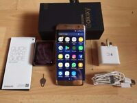 Samsung Galaxy S7 Edge Gold Boxed, 32GB, Unlocked