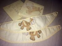 Mamas and papas tie backs zeddy and parsnip canvas x2 and curtains from Next