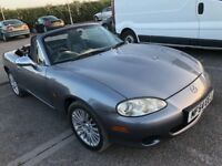 MAZDA MX-5 LOVELY CINVERTIBLE GREAT COLOUR LIMITED EDITION WITH FULL LEATHER ...