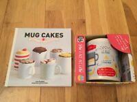 Cake or Muffin in a Mug. Mug and recipe book